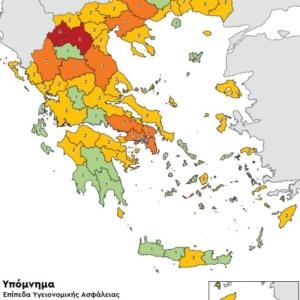 Αυξάνεται στην περιφερειακή ενότητα Έβρου το επίπεδο συναγερμού λόγω covid