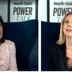 """Η Πρόεδρος του """"Ελλάδα 2021""""μίλησε στην Εβρίτισσα διευθύντρια του Marie ClaireΓαλάτεια Λασκαράκη"""