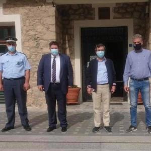 Τις εργασίες του φράχτη παρουσίασε από τις Φέρες ο Υφυπουργός Προστασίας του Πολίτη