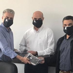 « Προσφορά μασκών του Δήμου Ορεστιάδας προς το Δημοκρίτειο Πανεπιστήμιο Θράκης ».