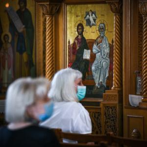 Αλεξανδρούπολη: Σύσταση από την αστυνομία σε εκκλησία για χρήση μάσκας
